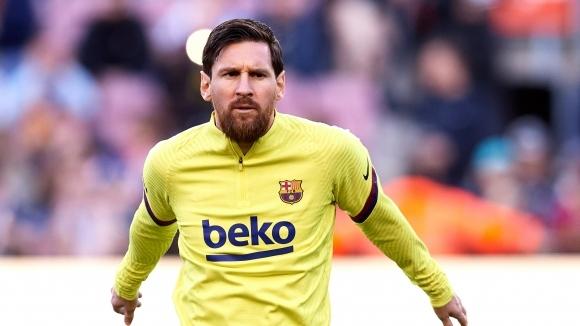 """Капитанът на Барселона Лионел Меси ще играе на """"Камп Ноу"""""""