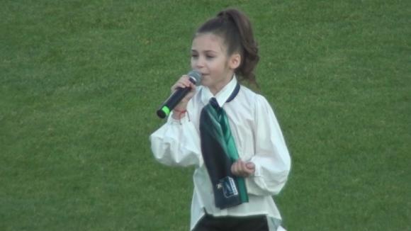 Лудогорец честити 16-ия рожден ден на популярната певица Крисия Тодорова.