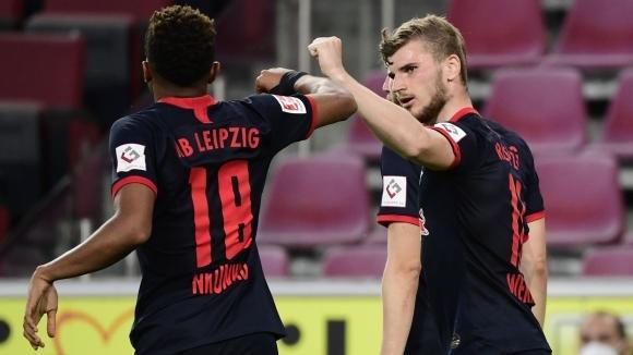 РБ Лайпциг постигна изразителна победа с 4:2 в гостуването си