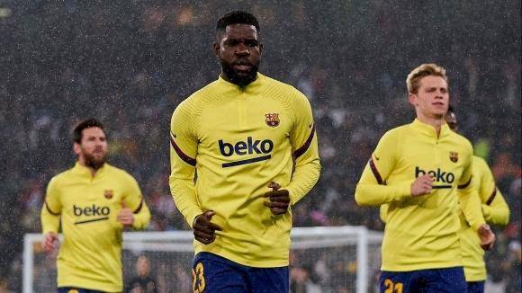 Защитникът на Барселона Самюел Юмтити ще бъде готов за игра