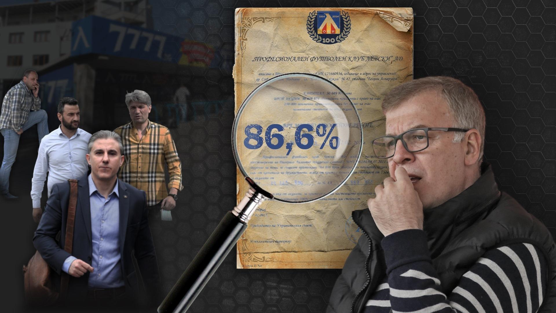 Легендата на Левски Наско Сираков потвърди, че е получил акциите