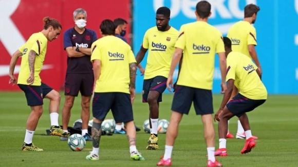 В отбора на Барселона е имало седем положителни теста за