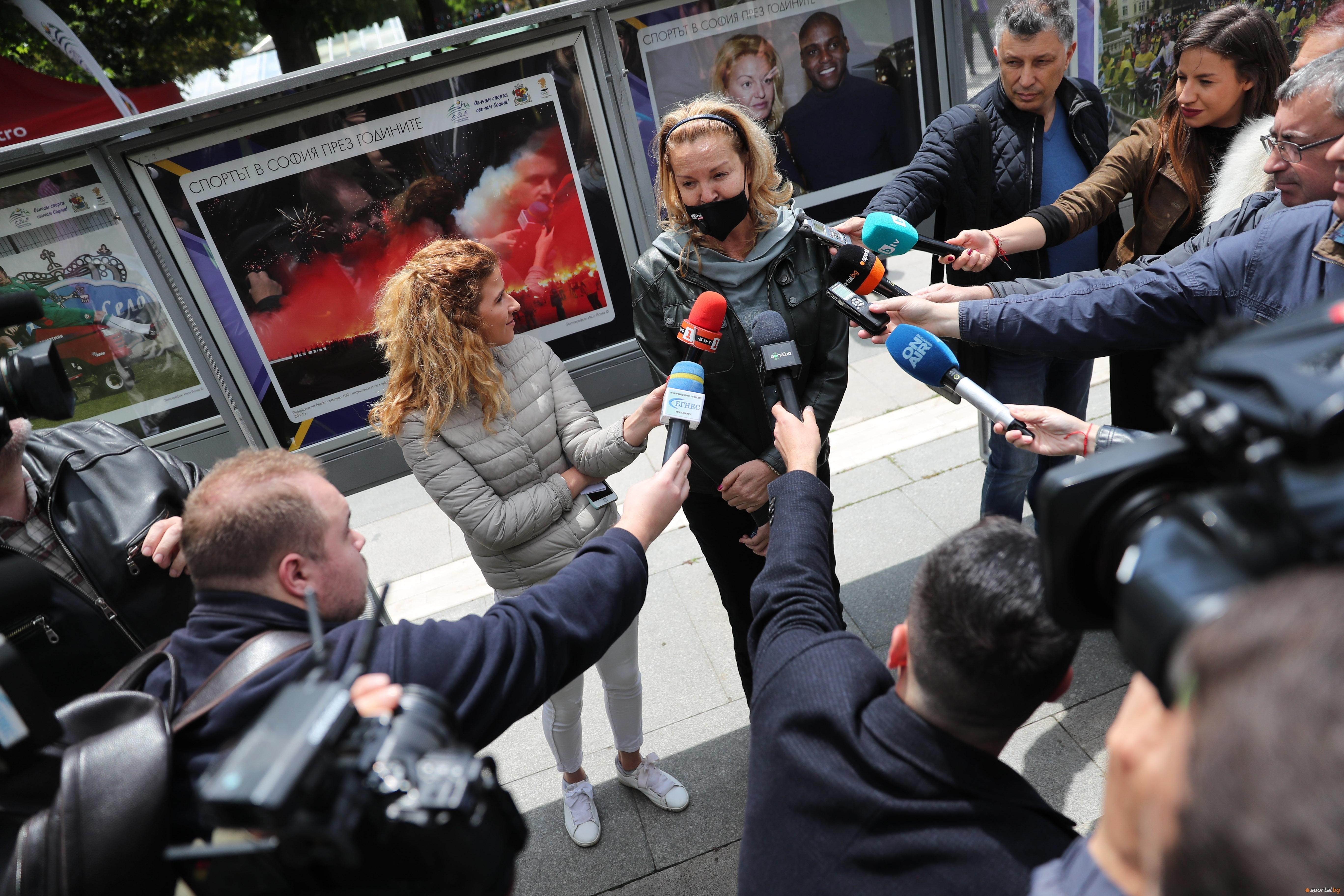 Президентът на Българския олимпийски комитет (БОК) Стефка Костадинова коментира отлагането
