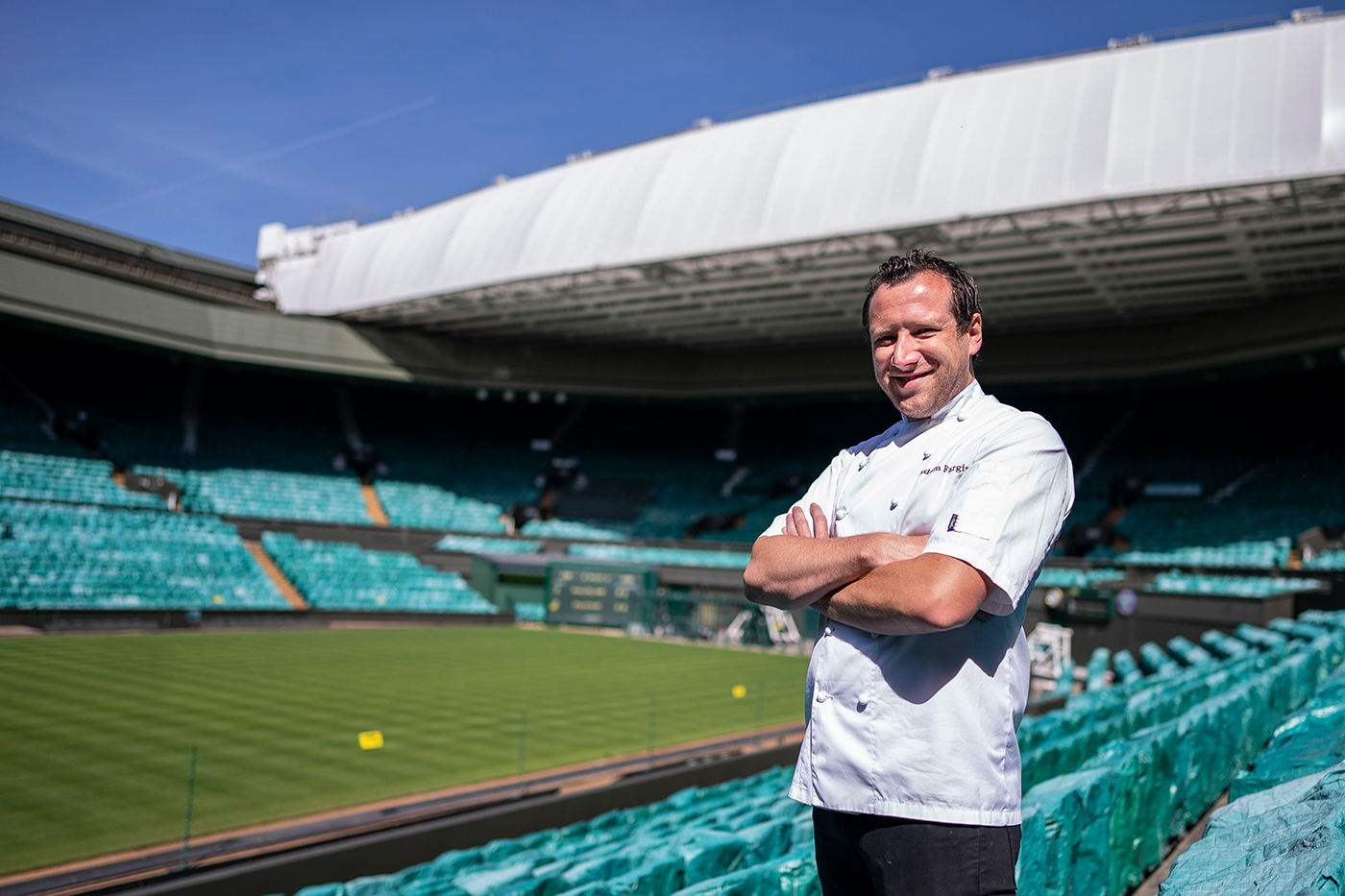 Кухнята на All England Club, където се провежда най-престижният тенис