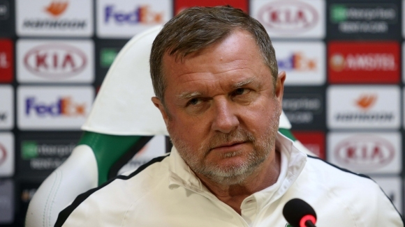 Треньорът на Лудогорец Павел Върба даде пресконференция преди подновяването на