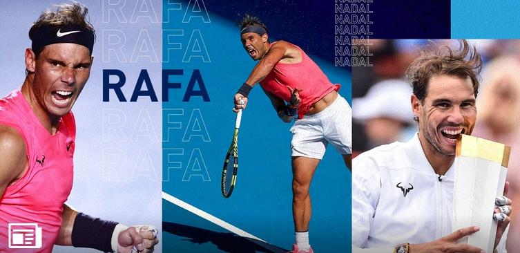Днес един от най-великите играчи в историята на тениса Рафаел