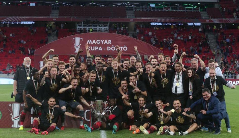 Хонвед спечели Купата на Унгария за осми път в историята