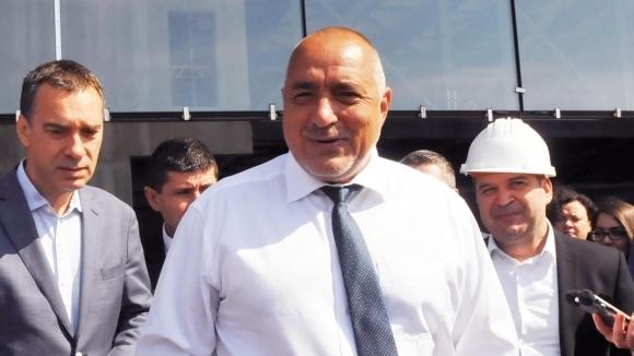 Премиерът на България Бойко Борисов, който е в основната да