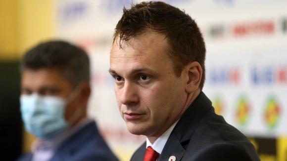 Изпълнителният директор на ЦСКА 1948 Добрин Гьонов представи официално новия