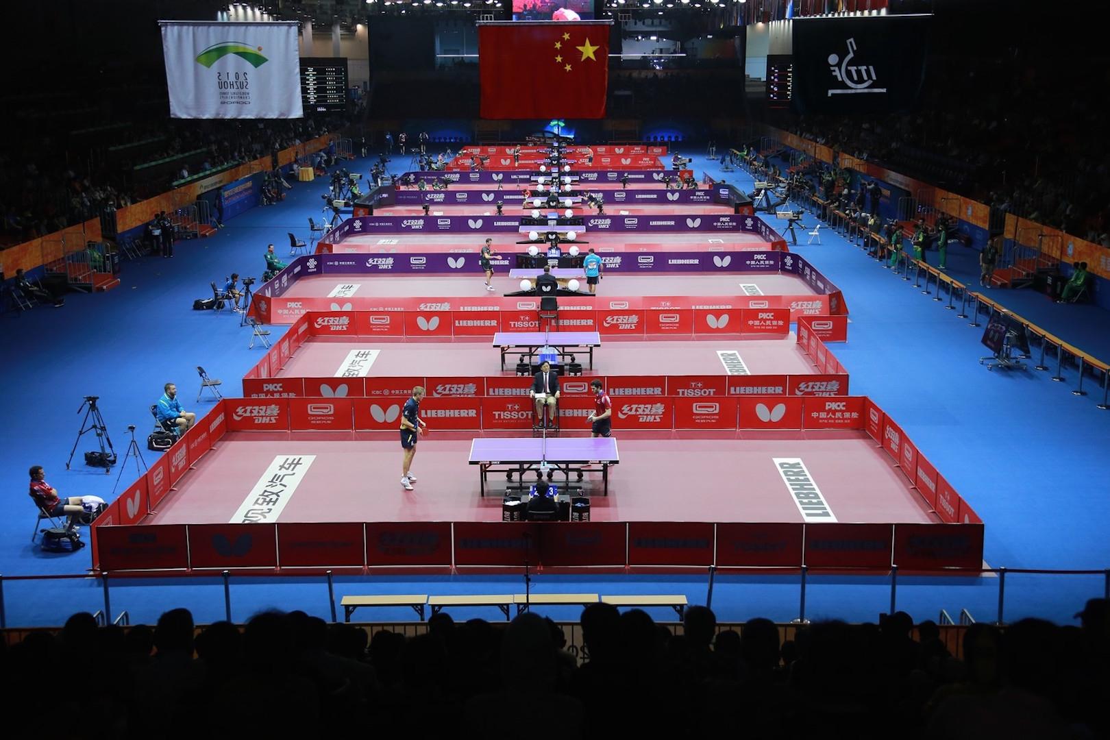 Световното отборно първенство по тенис на маса в Пусан, което