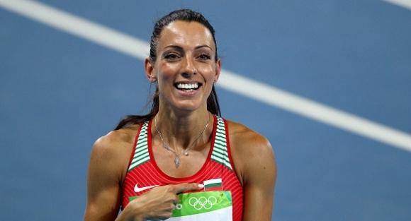 Най-добрата българска спринтьорка повече от десетилетие Ивет Лалова-Колио отново тренира