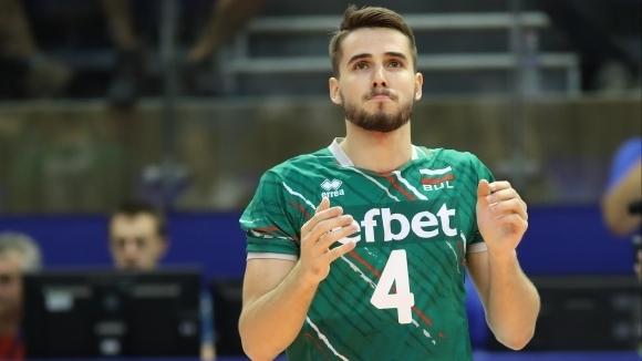 Волейболният национал Мартин Атанасов може да замени звездата Матей Казийски