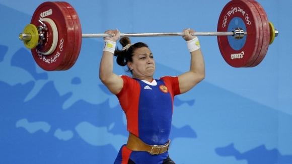 Трикратната световна шампионка по вдигане на тежести Надежда Евстюхина е
