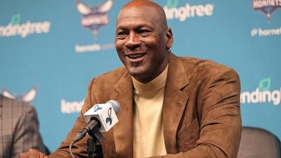 Собственикът на Шарлът Хорнетс и легенда на НБА Майкъл Джордан