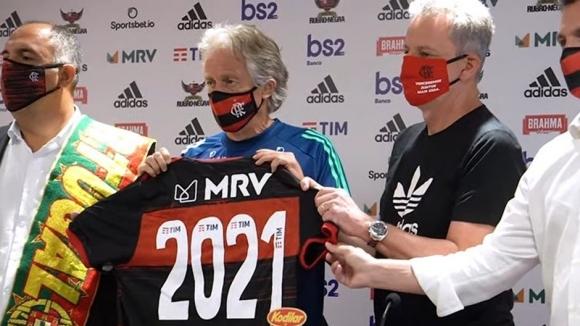 Треньорът на Фламенго Жорже Жезус подписа нов договор с клуба.