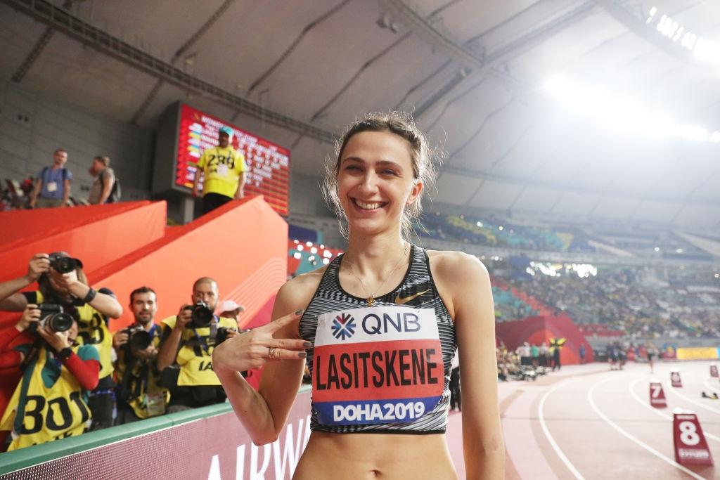 Световната и европейска шампионка в скока на височина Мария Ласицкене