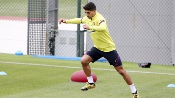 Нападателят на Барселона Луис Суарес получи разрешение от медицинския щаб