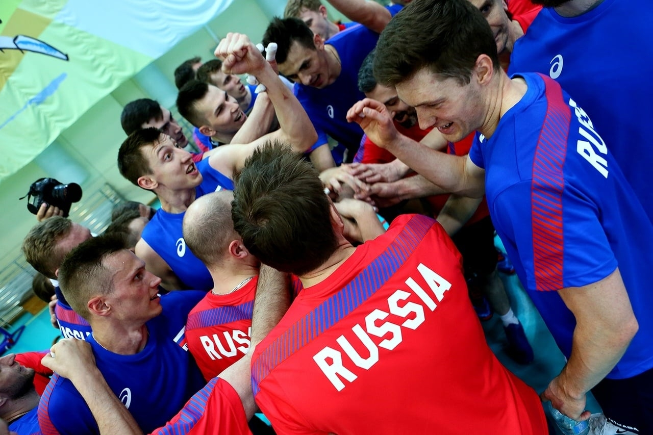 Двукратните шампиони от Волейболната лига на нациите от Русия ще