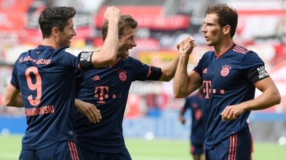 Байер (Леверкузен) приема лидера Байерн (Мюнхен) в най-интригуващия двубой от