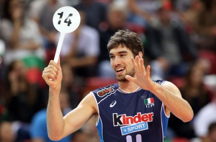 Италианският национал Лука Ветори ще се върне в залата на