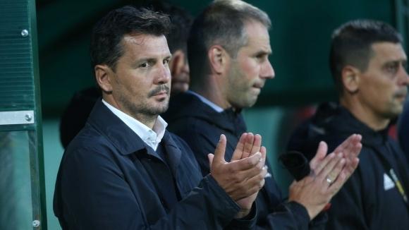 Наставникът на ЦСКА-София Милош Крушчич остана доволен след победата на