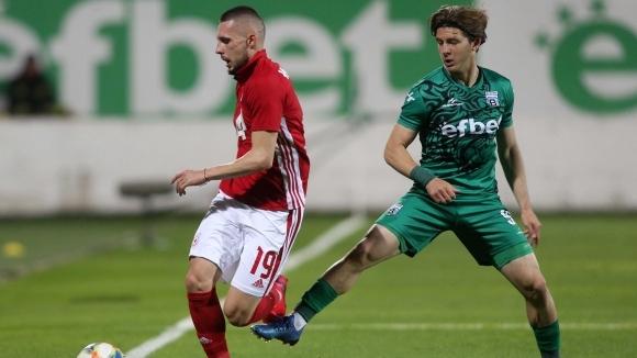 Защтитникът на ЦСКА-София Иван Турицов обяви след победата с 1:0