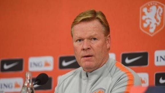 Селекционерът на холандския национален отбор Роналд Куман заяви, че би
