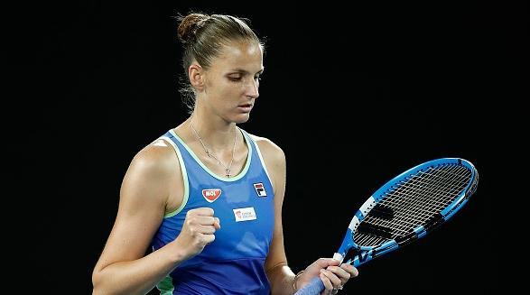 Световната №3 Каролина Плишкова спечели демонстративния турнир LiveScore Cup в