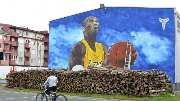 12-метрова стена на училище в Босна и Херцеговина бе изрисувана