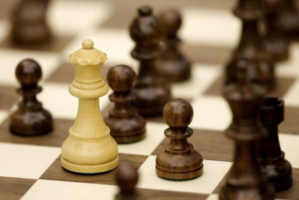 Партията по шахмат между руския гросмайстор Сергей Карякин и космонавта