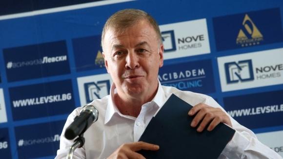 Новият собственик на Левски Наско Сираков ще вдигне завесата върху