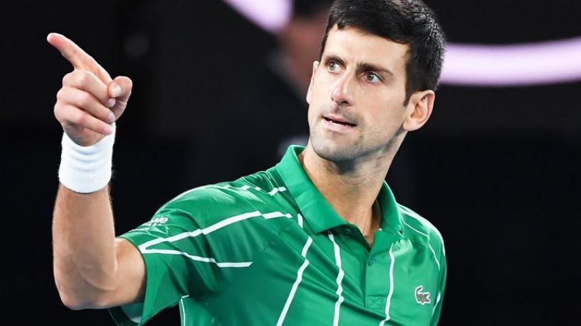 Водачът в световната ранглиста по тенис Новак Джокович (Сърбия) обмисля