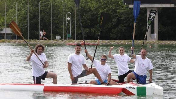 Петима от наи-добрите кануисти на България в подкрепа на ФондацияЕдна