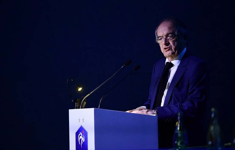 Президентът на футболната федерация на Франция Ноел Льо Грае заяви,