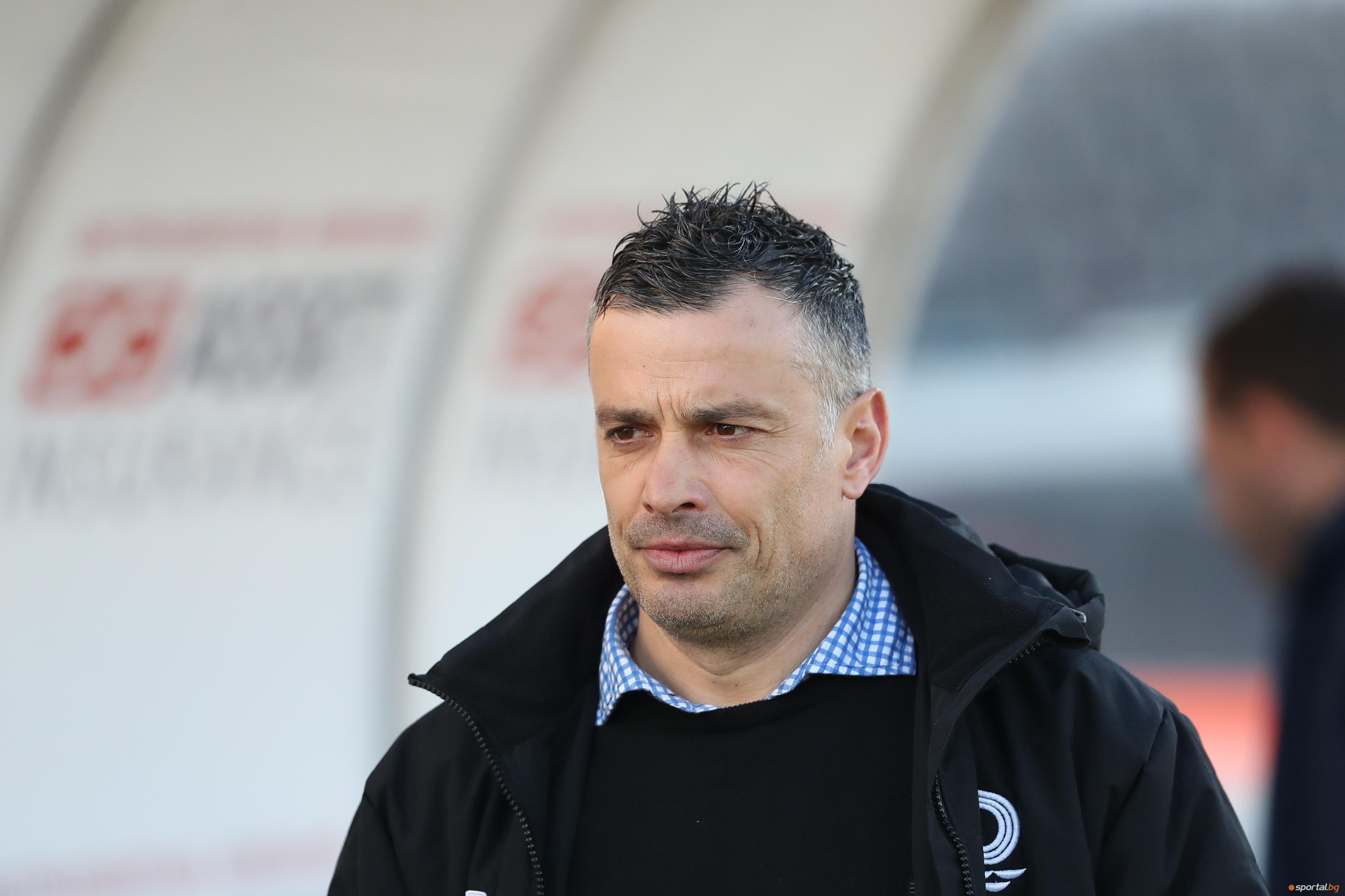 Старши треньорът на Дунав Людмил Киров прие спокойно загубата от