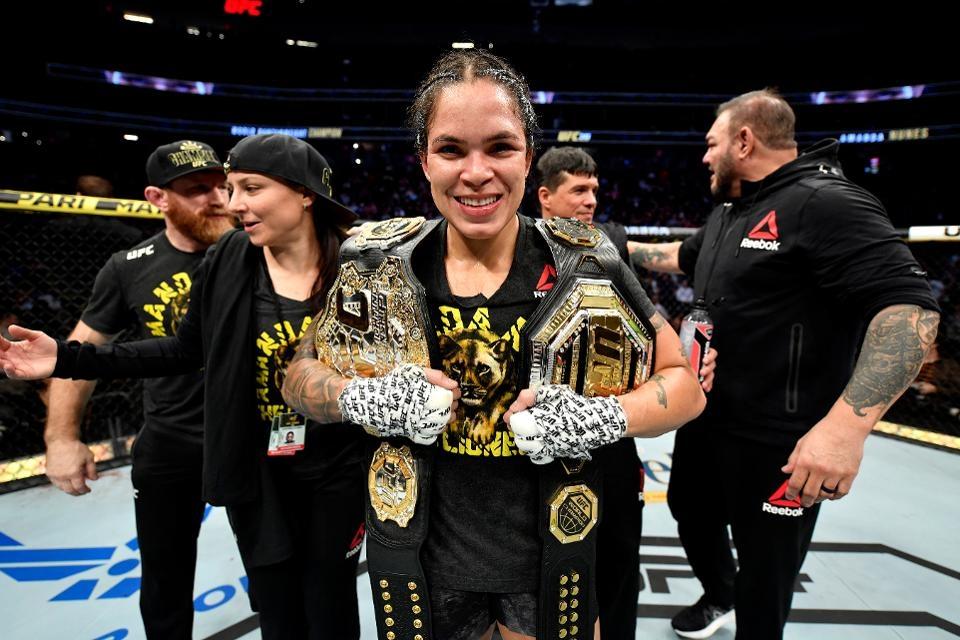 Двойната шампионка на UFC Аманда Нунеш планира да се оттегли