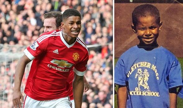 Кампанията на футболиста на Манчестър Юнайтед Маркъс Рашфорд за осигуряване