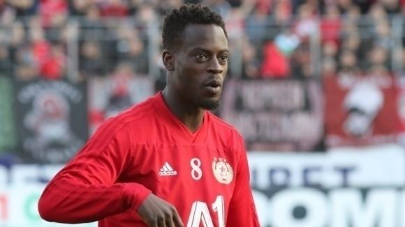 Офанзивният футболист на ЦСКА-София Едвин Джеси коментира пред турските медии