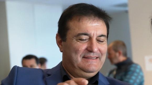 Президентът на ВК Арда (Кърджали) Милко Багдасаров, който е член