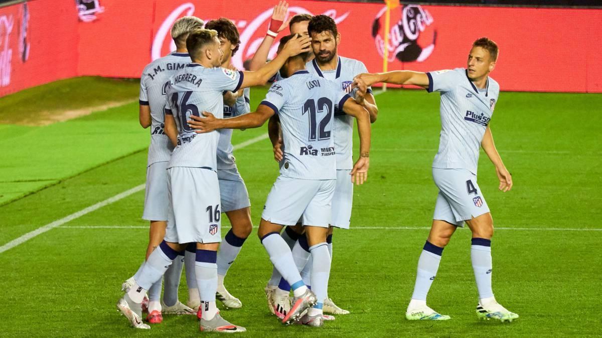 Атлетико Мадрид постигна убедителен успех с 5:0 в гостуването си