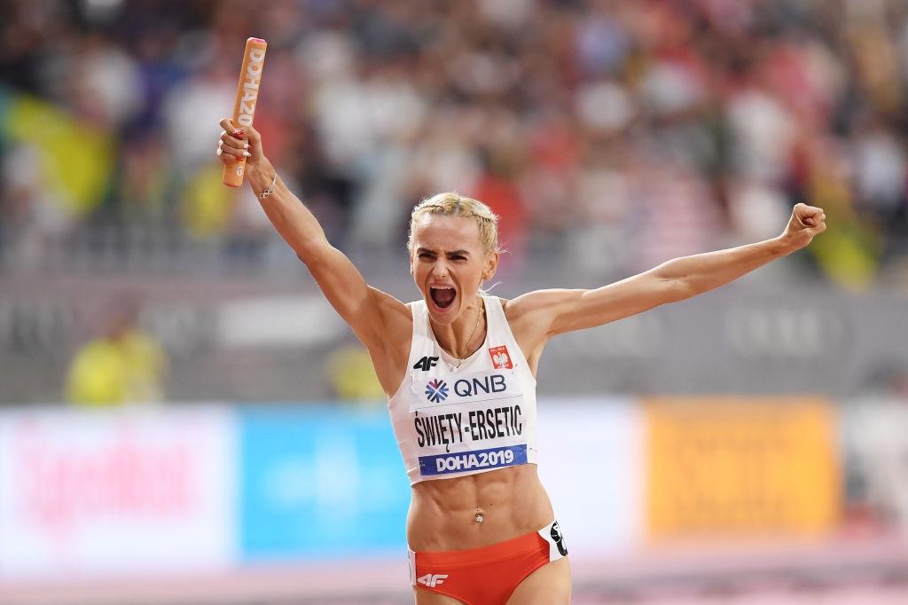 Европейската шампионка на 400 метра Жустина Свиети-Ерсетик направи силно състезание