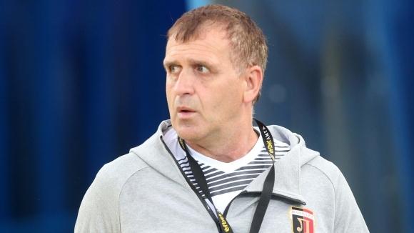 Наставникът на Локомотив (Пловдив) Бруно Акрапович беше много доволен, след