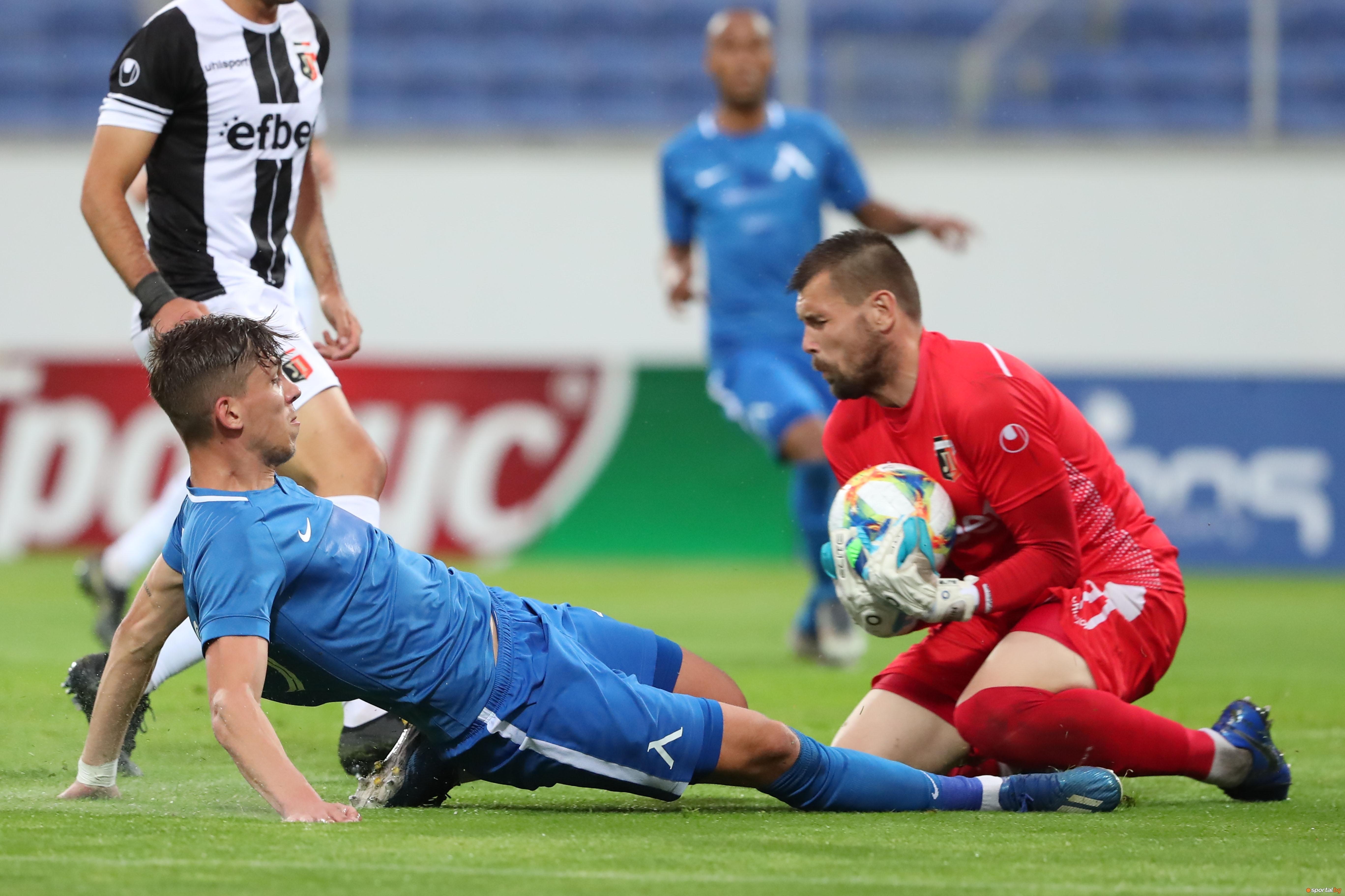 Вратарят на Локомотив (Пловдив) Мартин Луков изрази задоволството си от