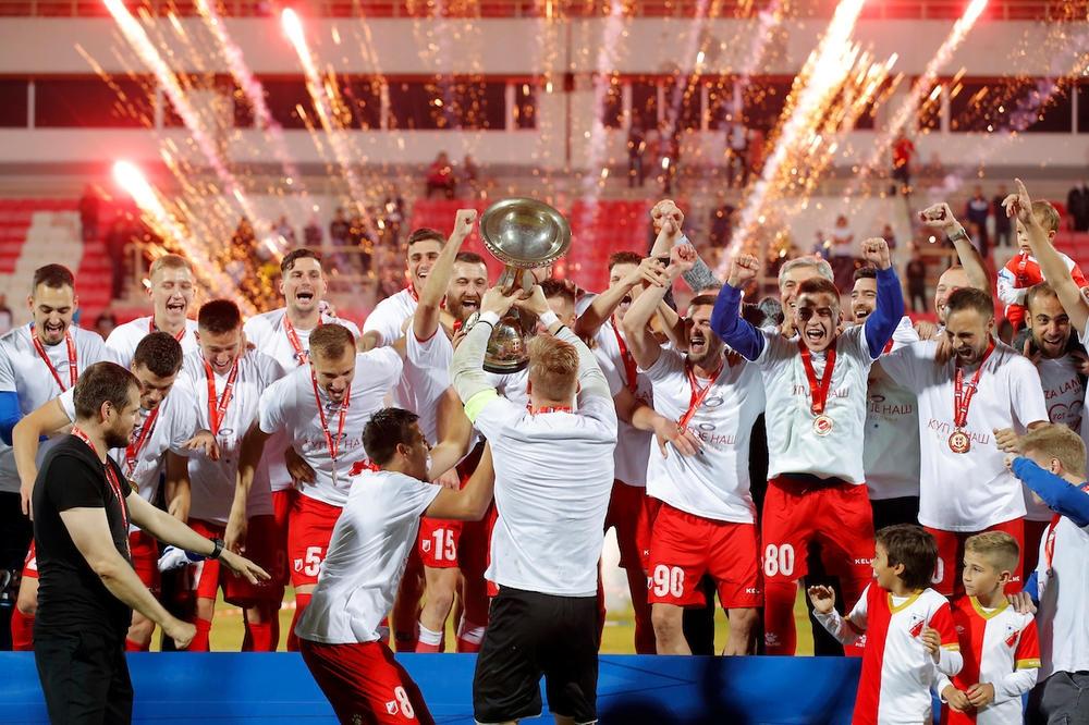Войводина Нови Сад спечели Купата на Сърбия, след като победи