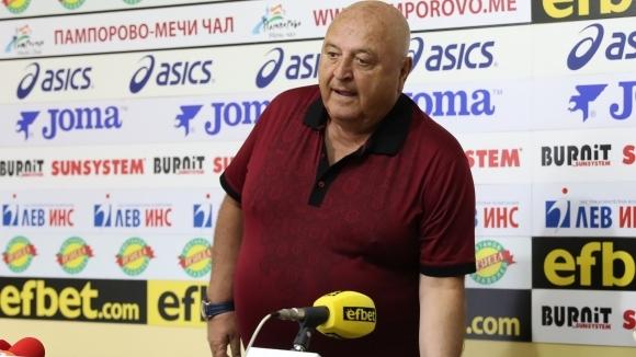 Президентът на Славия Венцеслав Стефанов заяви, че големият талант на