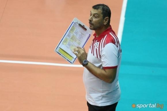 Помощник треньорът на националния отбор по волейбол и наставник на