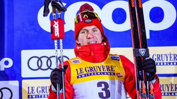 Носителят на Световната купа по ски-бягане Александър Болшунов получи Големия