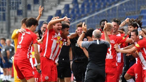РБ Залцбург спечели шампионската титла на Австрия по футбол за