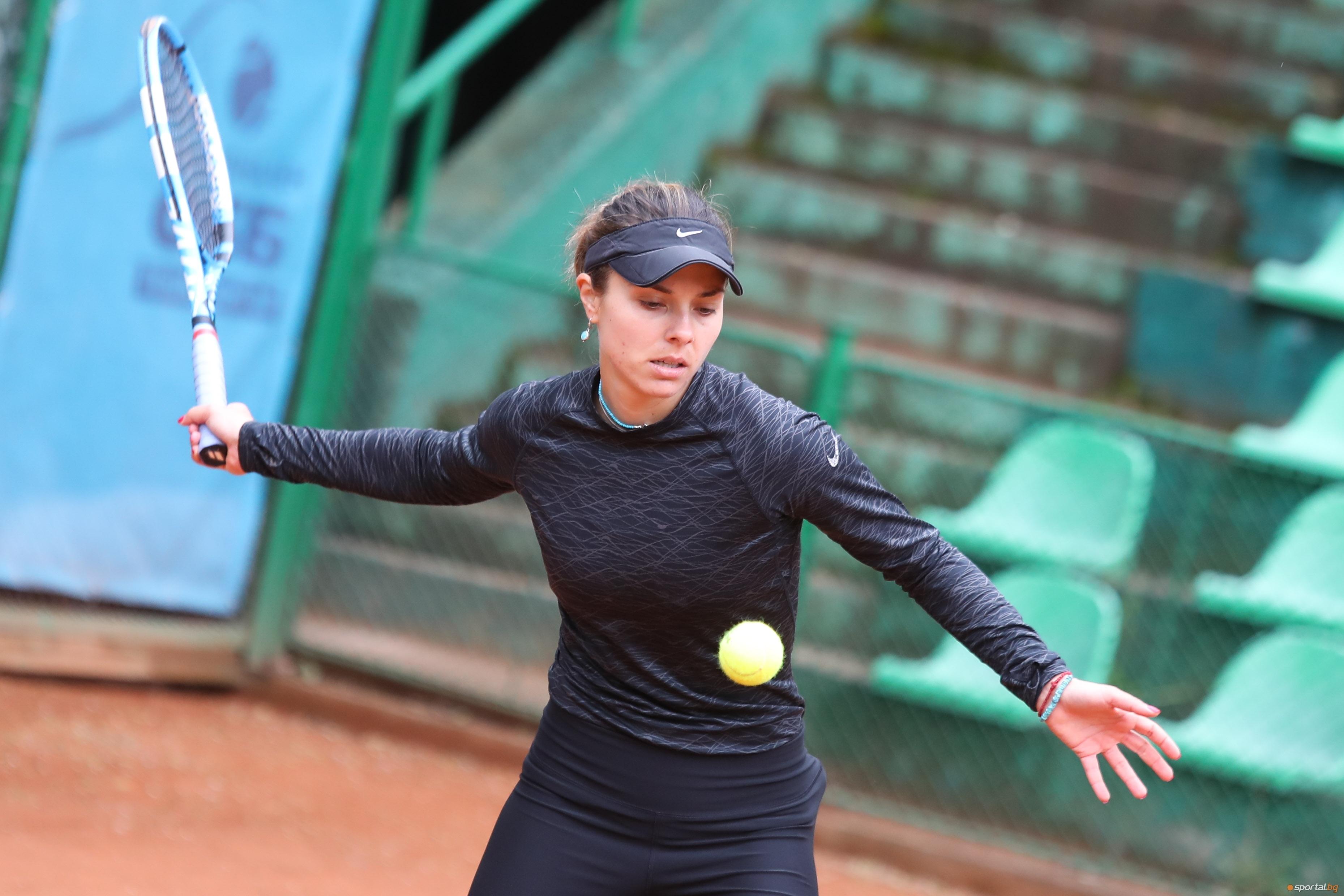 Виктория Томова се наложи с 6:1, 6:1 над Тияна Сретенович