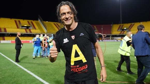 Филипо Индзаги изведе Беневенто до доминация в Серия Б по